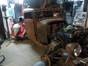 '29 FORD TRUCK RAT ROD (project)