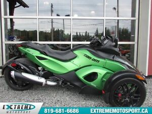 2012 Can-Am Spyder RS-S SM5 55,69$/SEMAINE