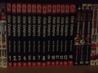 Complete Set Of Chibi Vampire Manga (volumes 1-14)
