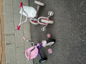 $25 for each children's trikes / tricycles