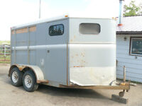 2 Horse Angle Haul w/ front tack $4000