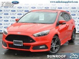 2016 Ford Focus ST  -  Power Windows -  Power Seats