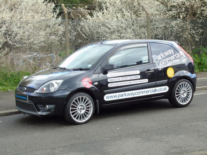 2007 07 ford fiesta 1 6 tdci 90 bhp sports car derived van. Black Bedroom Furniture Sets. Home Design Ideas