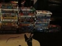 OVER 50 KID VHS MOVIES