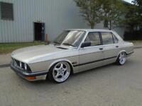 1984 BMW 520 E28 SHARKNOSE AIR RIDE AIR SUSPENSION SHOW CAR IMMACULATE