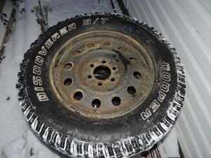 4 Discovery tires and rims