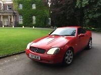 1999 Mercedes SLK 230 Kompressor Auto, 2.3 litre, Long MOT