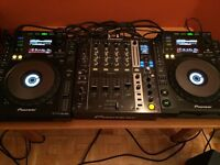 COMPLETE DJ SET UP FOR SALE
