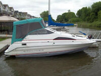 1990 Bayliner 22ft..in the water...near Port Dover..$6200