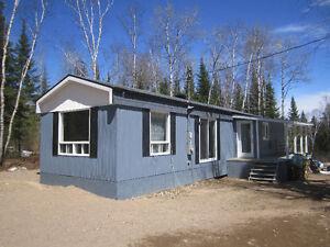 Maison-mobile habitable à déménager!