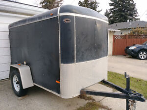 Enclosed 5x8 cargo trailer