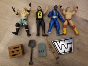 WWE Vintage Wrestlers With Accessories