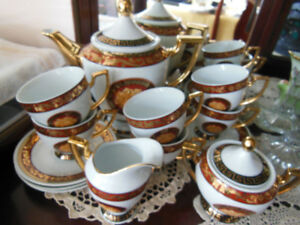 Bacchus Style Coffee/Tea Set