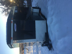 2013 Freedom Enclosed trailer 6' x 10' + 2' V-nose Trailer