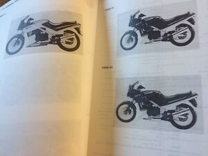 1987-1993 Kawasaki EX500 Service Manual Supplement Regina Regina Area image 5