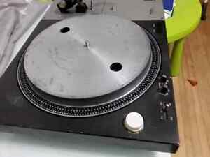 Vintage table tournante technics sl 1100a fonctionne a