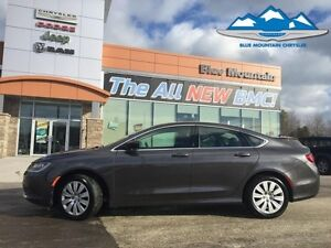 2015 Chrysler 200 LX  LOCAL TRADE, CERTIFIED ETESTED, EASY FINAN
