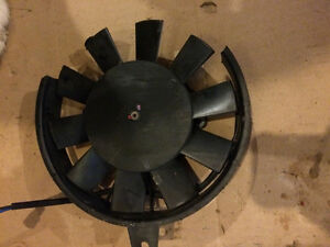 Triumph Daytona 650 600 fan cooling fan
