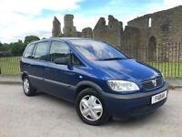 Vauxhall Zafira 1.6i 16v Club 7 Seater NEW MOT NO ADVISORIES NEW TYRES FSH