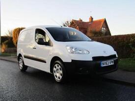 2014 Peugeot Partner 850 S 1.6 HDi 92 VAN ** 1 OWNER * FULL HISTORY * SIDE LO...