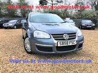 2009 VW Golf S 1.6FSi Estate FSH Warranty Delivery Px Swap welcome