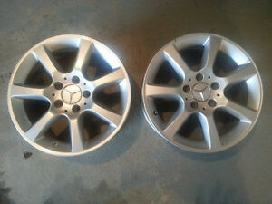 Pair of Rims for Mercedes Benz C240 $400 for Both