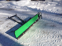"60"" Arctic cat snowplow"