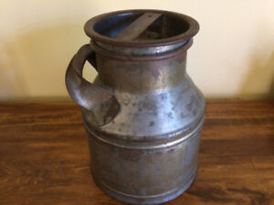 Antique small milk can