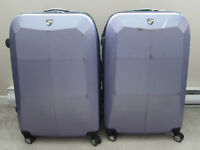 2 x Heys Sparta Purple Luggage
