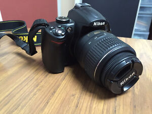 Nikon D5000 with Kit Lens + 10-24mm 5G ED & 50mm 1:1.8 G Lenses