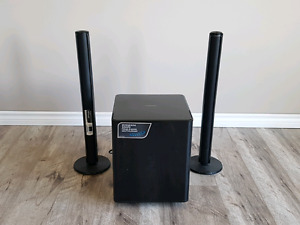 Samsung Wireless & Active Subwoofer with Crystal Airtrack