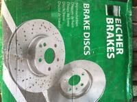 Ford Transit Mk7 Brake front brake discs