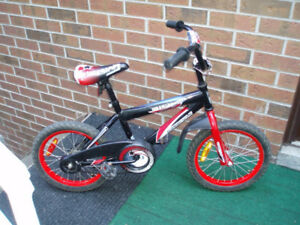 "Supercycle Illusion 16"" Boys BMX Bike in excellent condition"