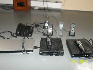 for sale cordless phones and desk phone