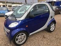 2000 MCC SMART LEFT HAND DRIVE SMART CAR DIESEL FSH LHD
