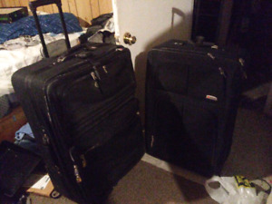 2 size 30 large travel bags in great shape, not carry on