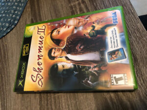 "Shenmue 2 Xbox ""mint condition"""