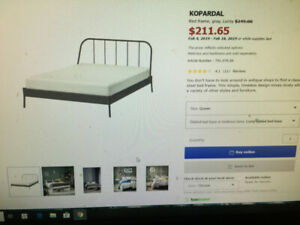 Queen bed frame for SALE