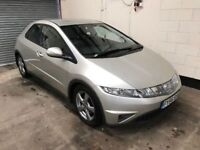 Honda CIvic SE I 2.2 CDTI, 6 Speed, 12 Service Stamps, Air Con, 12 Month Mot, 3 Month Warranty