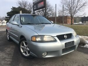 2003 Nissan Sentra S/R 2.4 liter, Certified with Warranty