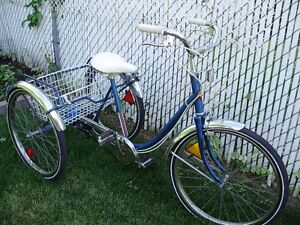 TRICYCLE d'adulte