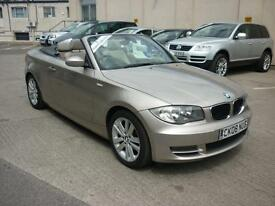 2008 BMW 118 2.0 i SE Convertible Just 53k Finance Available