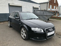 2006 AUDI A4 AVANT 2.0T S LINE ( PART EXCHANGE TO CLEAR ) 2.0 TURBO