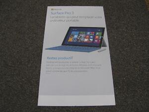 Pancarte Publicitaire Microsoft Surface Pro 3 - 25$