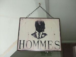 """""""Vintage"""" style sign from France"""