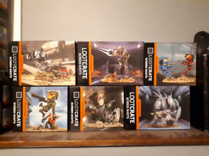 Halo lootcrate collectable figures
