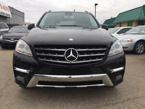 2012 MERCEDES-BENZ ML350 BLUETEC, DIESEL, FULLY OPTIONED