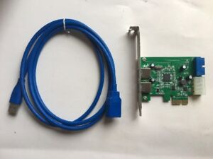 4-Port USB 3.0 PCIe Host Card and 5ft USB 3.0 Extension Cable