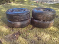 Dodge Caravan Rims and Tires