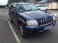 2004 Jeep Grand Cherokee 2.7 CRD Overland model